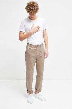 Calvary Twill Trousers | Sale | French Connection