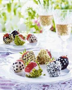 Erdbeeren | Schoko | Nuss | Topping
