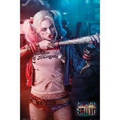 Suicide Squad Harley Quinn Poster standard