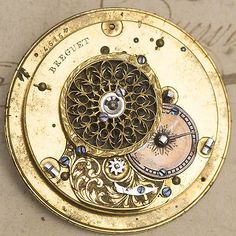 Image result for antique verge fusee watch movement