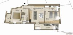 Coffee Break | The Italian Way of Design: Work in progress | recupero di un palazzetto terra-cielo (2) Italian Style, Coffee Break, Floor Plans, Interior Design, Home, Interior Design Studio, Interior Designing, Home Interiors, Coffee Time