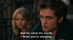 cute movie quotes | couple, cute, movie, quote, remember me - inspiring picture on Favim ...