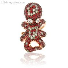 OCTOPUS RING from Zorab Atelier De Creation-USA Gallery