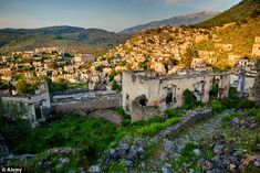 The ghost town of Kayakoy was chosen as a location as it has remained largely untouched si...