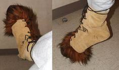 Faun Costume - Finished Hoof by ~lauraneko