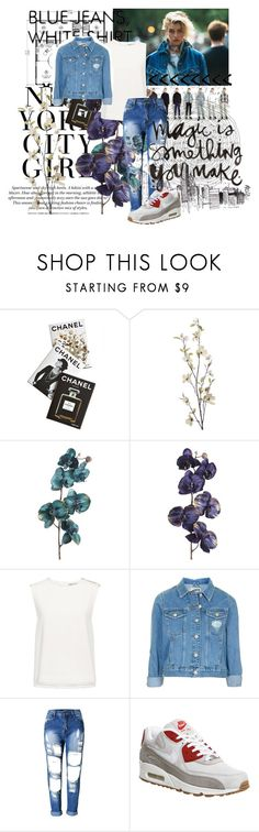 """""""#26"""" by marleen16 ❤ liked on Polyvore featuring H&M, Assouline Publishing, DKNY, Pier 1 Imports, Finders Keepers, Topshop and NIKE"""