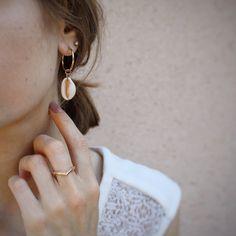 Shell earrings 🐚
