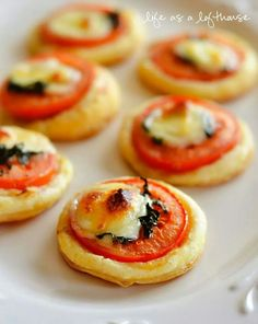 Wonderful appetizer...esp for an Italian night dinner party!
