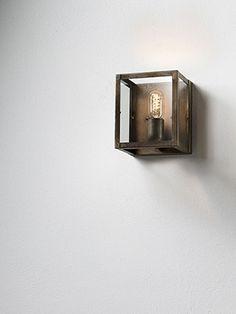 London | Lampade a sospensione, applique e plafoniere da interno in ferro anticato e vetro