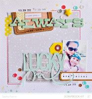 A Project by Sasha_F from our Scrapbooking Gallery originally submitted 09/10/13 at 11:14 PM