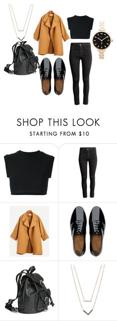 """#4"" by kimmiwittlieb on Polyvore featuring adidas Originals, H&M, FitFlop, Michael Kors and Marc by Marc Jacobs"
