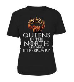 QUEENS IN THE NORTH ARE BORN IN FEBRUARY