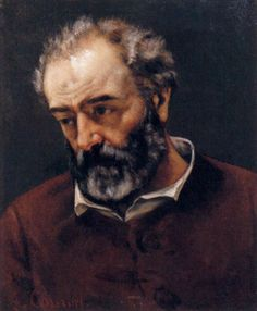 Portrait of Chenavard by Gustave Courbet