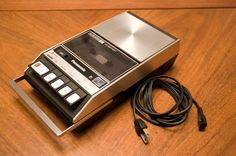 The good old tape recorder. Spent hours recording ourselves and songs off of the radio.
