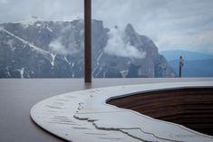 Aussichtsplattform Engelrast auf dem Puflatsch-Rundweg  #SeiserAlm #AlpediSiusi #Südtirol #Südtirolbewegt #Dolomiten #Italien Europe, Hiking, Italy, Viajes