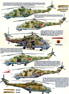 100%™ Mil Mi-24 |  Russian helicopter. German, Russian, Nicaragua Air Force