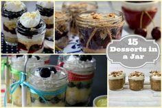 15 Desserts in a Jar
