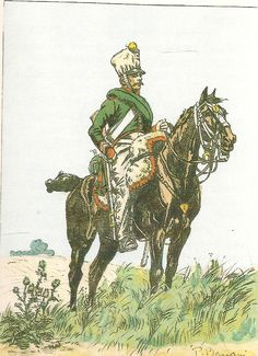 French; 1st Chasseurs a Cheval, Corporal, Tenue de Campagne.1809