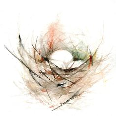 Birds Nest Painting Print from Original Watercolor Painting on Etsy, $30.00