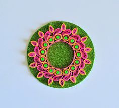 Quilled Candle Holder / Quilled Diyas