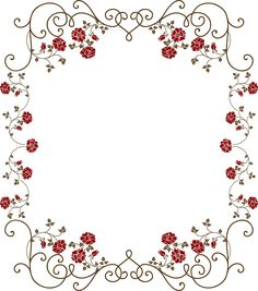 ЦВЕТОЧНЫЕ РАМКИ Page Borders Design, Border Design, Arts And Crafts, Paper Crafts, Borders And Frames, Silhouette Design, Designer Wallpaper, Pattern Paper, Coloring Pages