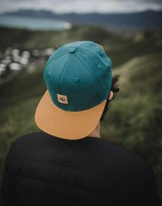 179d7b492ad A classic snapback hat with added cork detailing to show off our tentree  logo and give