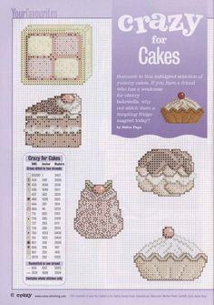 Billedresultat for cross stitch pasteries pattern