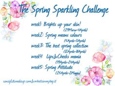 TAG: The Spring Sparkling Challenge: Brights up your skin! No Eyeliner Makeup, Material Girls, Light And Shadow, Spring Collection, Your Skin, Beauty Makeup, Bright, Challenges, Spring