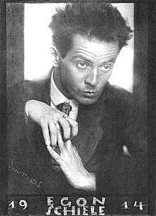 Pupillo di Gustav Klimt, Schiele è stato uno dei maggiori artisti figurativi del primo '900, nonché esponente assoluto del primo espressionismo viennese assieme ad Oskar Kokoshka. La vita di Egon Schiele è circondata da un'aura mistica: talento precoce, muore alla giovane età di 28 anni.  Il suo lavoro è noto per l'intensità espressiva, l'introspezione psicologica e la comunicazione del disagio interiore attraverso i suoi numerosi ritratti.