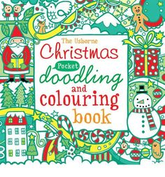 A pocket-sized book that is packed with Christmas-themed doodling and colouring activities to keep children (or adults!) busy for hours. It features snowflakes, ice skaters, reindeers and penguins to doodle, as well as stockings, decorations, and baubles to colour.
