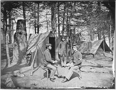 Camp scene by The U.S. National Archives, via Flickr