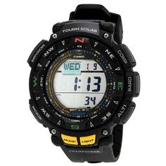 Casio Triple Sensor Solar Pathfinder Digital Mens Watch PAG240-1V Casio. $158.63. second-hand. Water Resistant up to 100 m. Save 37% Off!