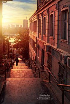 Secret of one stairway by Dzodan.deviantart.com on @deviantART