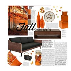Fall Home Decor by juhh on Polyvore featuring interior, interiors, interior design, home, home decor, interior decorating, Stelton, Bungalow 5, Jiti and Anja