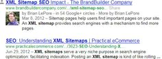 Example of Google Authorship Markup modifying SERP pages
