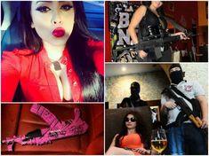 Meet the World's Deadliest Woman Who Leads the World's Most Cruel Gang of Killers Pablo Escobar Family, Gangster Girl, Bikini Clad, The Empress, Dangerous Woman, Boss Lady, My Girl, Fighter Jets, Beautiful Women