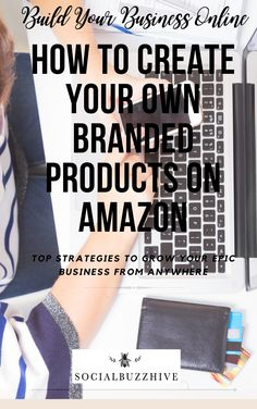 With retail stores going bust in this day and age and more and more people shopping online this has created a wealth of products to choose from online. Creating your own branded products on Amazon is not as difficult as it sounds. Here's how to create your own branded products on Amazon for a business you can grow from anywhere in the world. Online Jobs For Moms, Online Blog, Money Tips, Money Saving Tips, Way To Make Money, Make Money Online, Online Earning, Budgeting Tips, Finance Tips