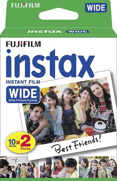 Fujifilm - Instax Wide Instant Film (2-Pack) - White, 16468498