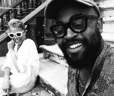 "Max Pittion: POLITCIAN/BLACKFADE and Jenny Baptiste@jennybaptiste in the…"""