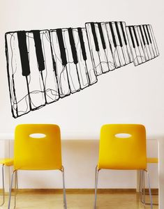 Decal sizes are available. Email us and we will give you a fair price.Some guitar wall decals may come in multiple pieces due to the size of the design.Vinyl wall decals are removable but not re-positionable. Simply peel and s. Wall Decal Sticker, Wall Stickers, Piano Shop, Recording Studio Design, Wall Painting Decor, Guitar Wall, Piano Keys, Music Wall, Textured Walls