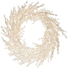 GE�Pre-Lit 30-in Winterberry Indoor/Outdoor Artificial Christmas Wreath with 300-Count Incandescent Lights