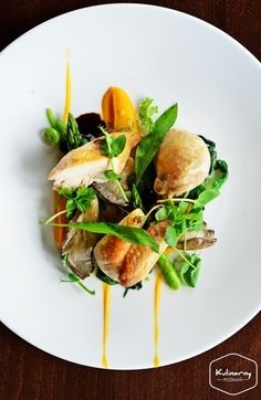 Image result for stunning plated food spring
