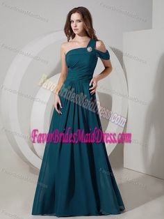 satin strapless directionally pleated bodice a-line bridesmaids