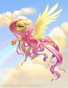 fluttershy. Mommas favorite...if you could possibly pick a pony:)