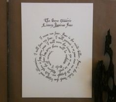 Love this...WANT!   Litany Against Fear Dune 18x24 screen print limited edition