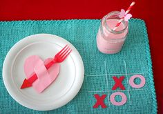 Kids Valentine Table