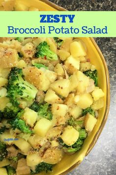 There are so many types of delicious homemade potato salads to choose from – classic, Southern, old fashioned. Don't forget warm German potato salad (my favorite), potato salad made with sweet… More