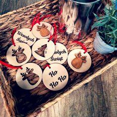 Drewniane bombki - Personalizacja Xmas, Breakfast, Food, Morning Coffee, Christmas, Essen, Navidad, Meals, Noel