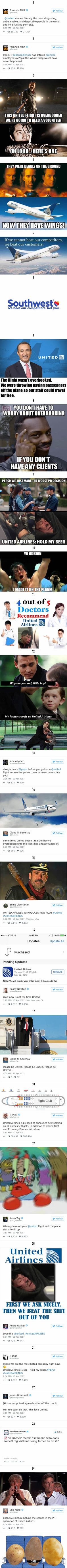 24 Hilarious Reactions To United Airlines Violently Dragging A Man Off A Plane