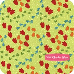 Green tonal dinosaurs dinosaur train by quilting for Fabric with trains pattern
